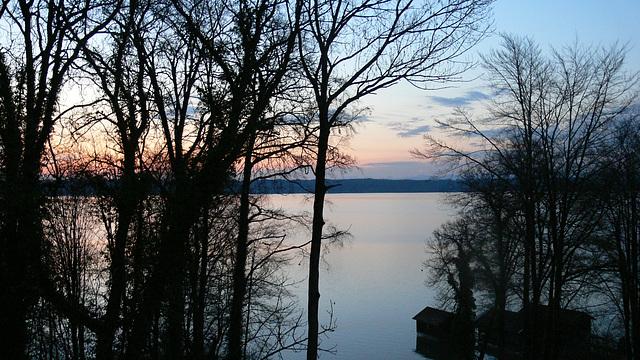 Blaue Stunde am Starnberger See