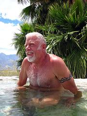Darrel in the Volcano Pool (1447)