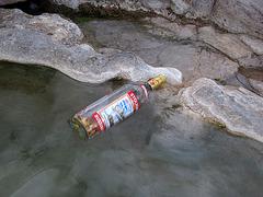 Ginger Vodka in the Volcano Pool (1511)