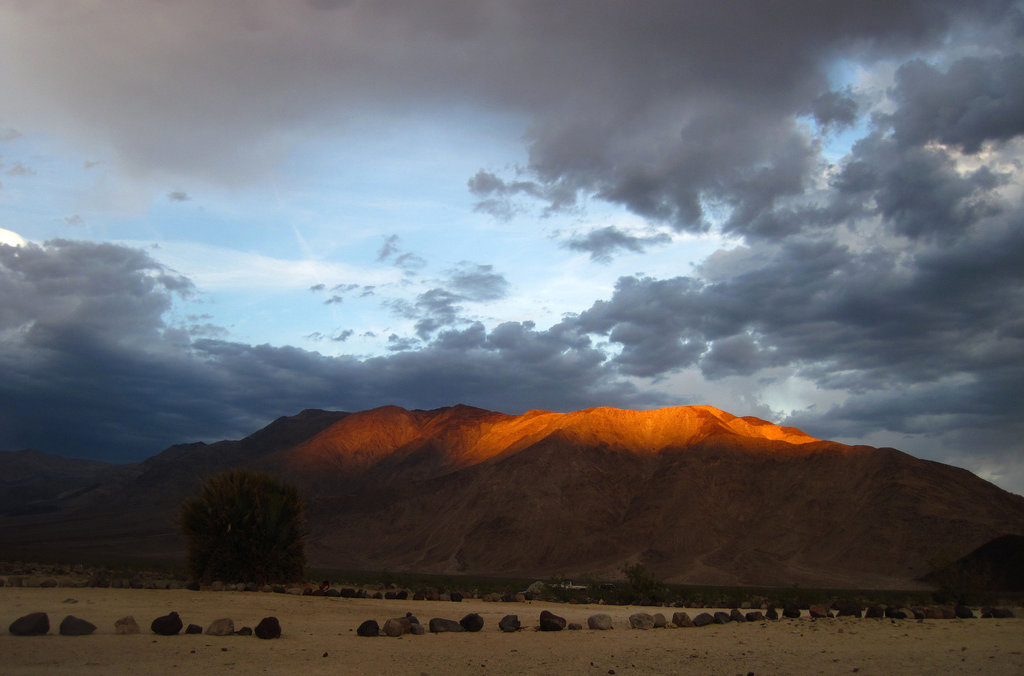 Sunset in Saline Valley (1510)