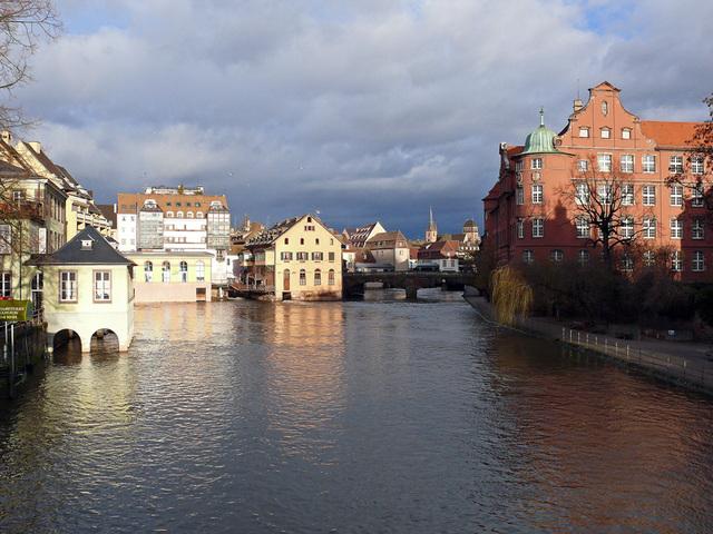 Strasbourg : feux du matin