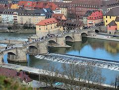 Würzburg, Alte Marienbrücke