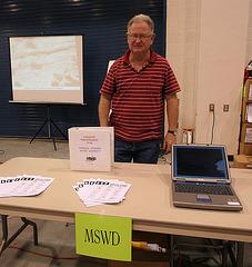 DHS Earthquake Expo - MSWD Gary Brockman (9042)