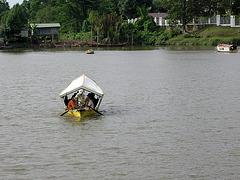 Wassertaxi und wenn der Motor streikt...