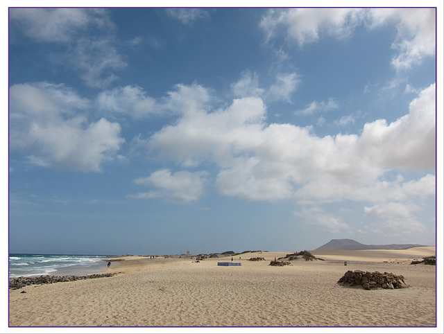 Der Strand der Halbinsel Jandía
