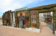 Noah Purifoy Outdoor Desert Art Museum - Aurora Borealis (9823)