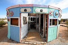 Noah Purifoy Outdoor Desert Art Museum - Carousel (9803)