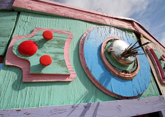 Noah Purifoy Outdoor Desert Art Museum - Carousel (9804)