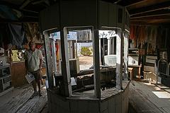 Noah Purifoy Outdoor Desert Art Museum - Carousel (9810)