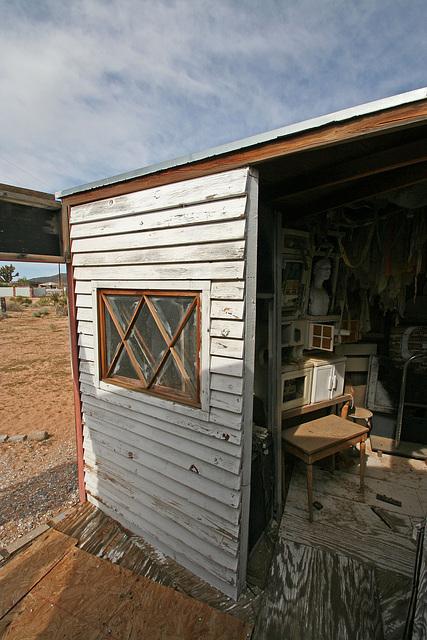 Noah Purifoy Outdoor Desert Art Museum - Carousel (9812)