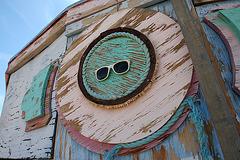 Noah Purifoy Outdoor Desert Art Museum - Carousel (9980)