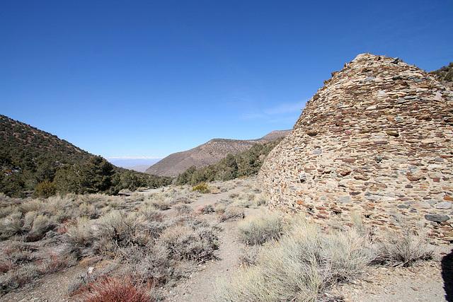 Charcoal Kiln View Of Eastern Sierra (9629)