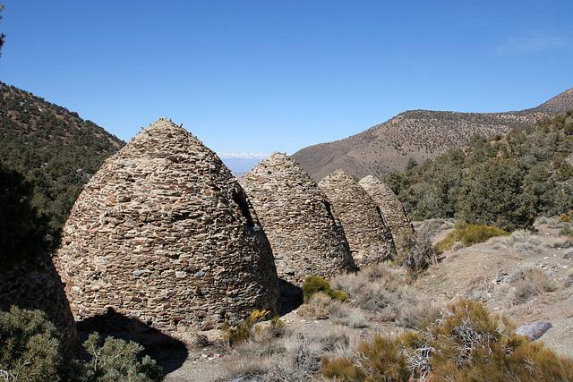 Charcoal Kiln View Of Eastern Sierra (9630)