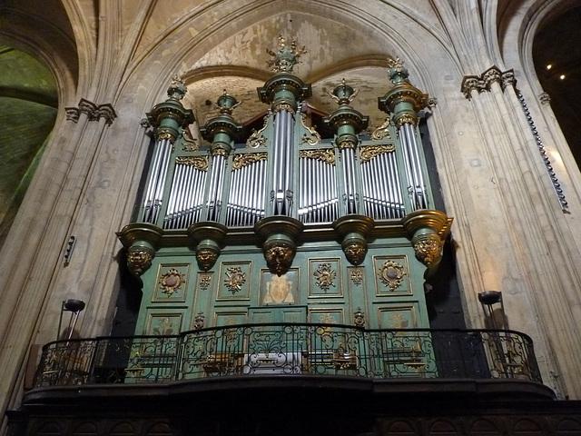 L'orgue de Saint Sauveur