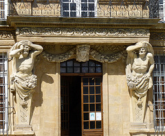 L'entrée du pavillon Vendôme