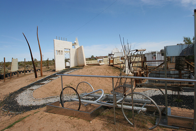 Noah Purifoy Outdoor Desert Art Museum - Earth Piece (9820)