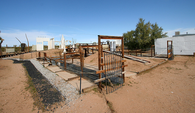 Noah Purifoy Outdoor Desert Art Museum - Earth Piece (9833)