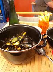 Concarneau 2014 – Moules-frites