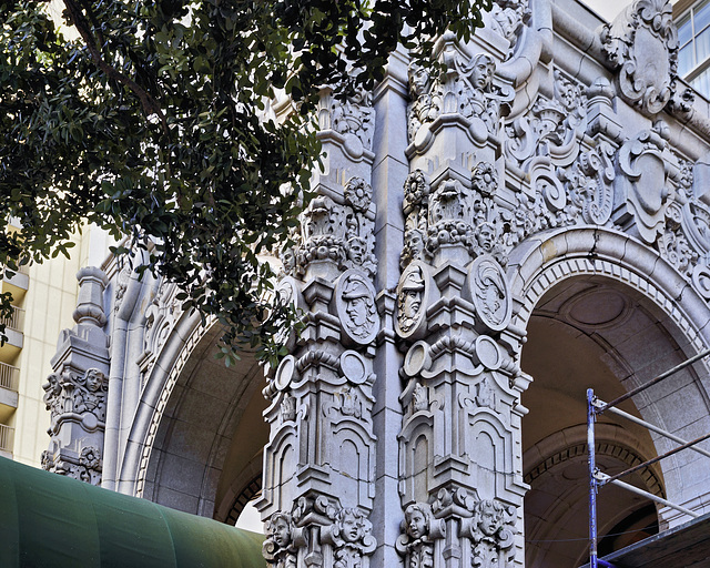 The Cathedral Apartments – California Street at Jones Street, San Francisco, California