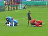 DFB Pokal 2010/2011 1. Runde CFC vs. FC St. Pauli - hier wird sich nichts geschenkt.