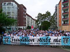 """Tradition stirbt nie"" - Fußballclub Karl-Marx-Stadt"