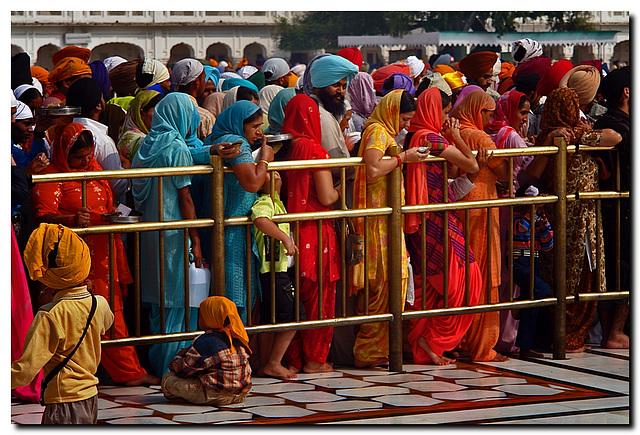 Bridge to Harimander Sahib/Golden Temple