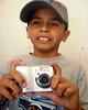 Diego de Samalayuca en mi taller de Fotografía