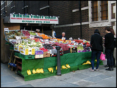 London fruit stall