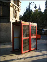 red telephone kiosks