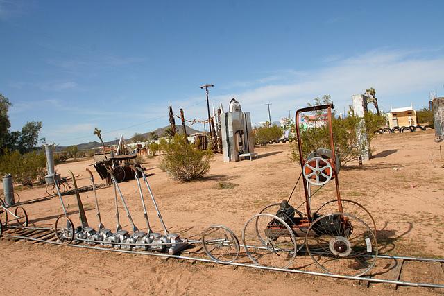 Noah Purifoy Outdoor Desert Art Museum - The Kirby Express (9875)