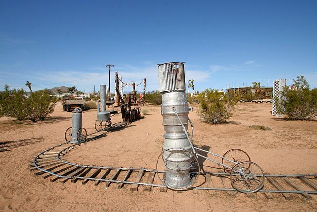 Noah Purifoy Outdoor Desert Art Museum - The Kirby Express (9876)