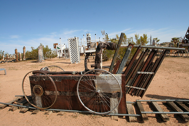 Noah Purifoy Outdoor Desert Art Museum - The Kirby Express (9879)