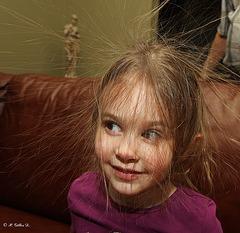 Cheveux électrique