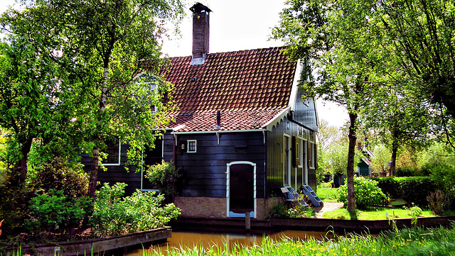 Zaanse Schans/Nederlands