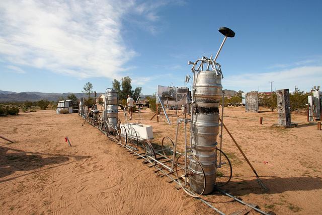 Noah Purifoy Outdoor Desert Art Museum - The Kirby Express (9871)