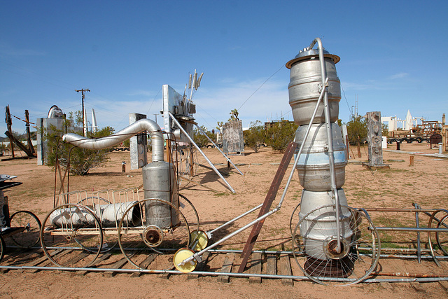 Noah Purifoy Outdoor Desert Art Museum - The Kirby Express (9873)