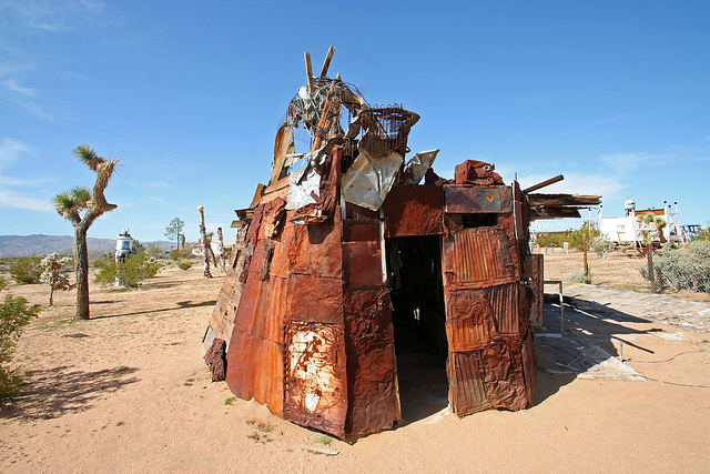 Noah Purifoy Outdoor Desert Art Museum - Squatter's Shack (9900)