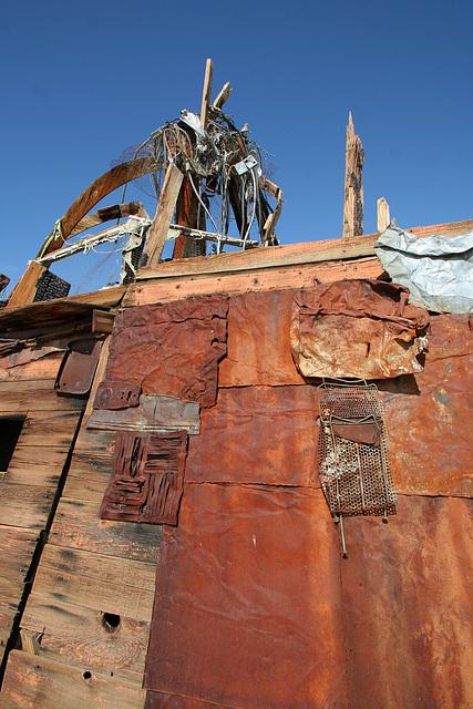 Noah Purifoy Outdoor Desert Art Museum - Squatter's Shack (9901)