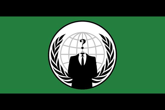 Un nouveau drapeau est né : les Anonymous