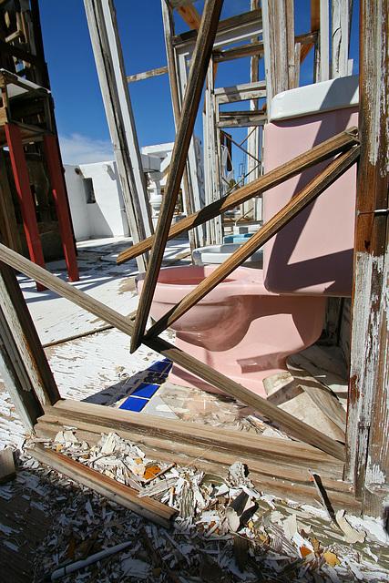 Noah Purifoy Outdoor Desert Art Museum - The White House (9973)