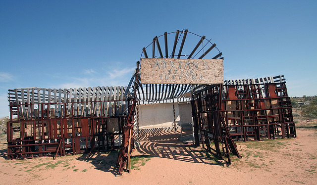 Noah Purifoy Outdoor Desert Art Museum - Theater (9922)