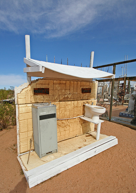 Noah Purifoy Outdoor Desert Art Museum - White:Colored (9814)