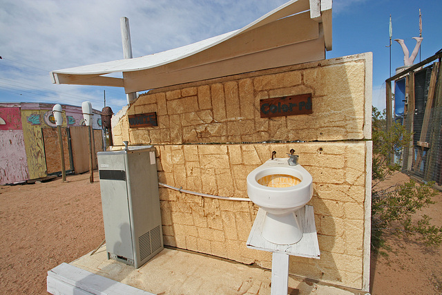 Noah Purifoy Outdoor Desert Art Museum - White:Colored (9815)