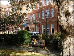 Queen Square garden