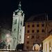 Melnik at Night, Edited Version, Bohemia (CZ), 2011