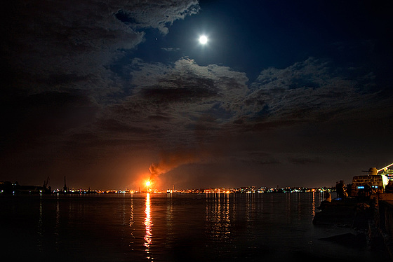 the fire and the moon