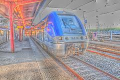 TER en gare de Strasbourg