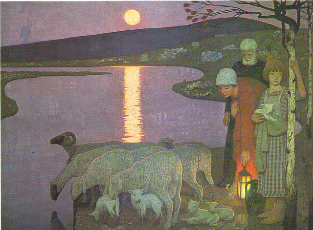 Cayley Robinson, Pastoral, 1923, Tate Gallery