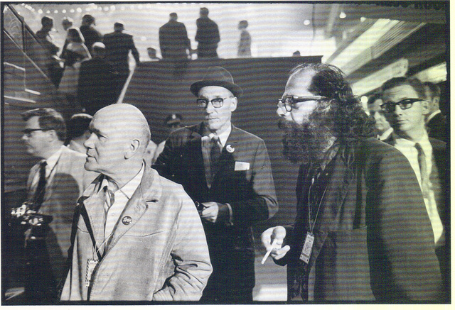 Jean Genet, William Burroughs, Allen Ginsberg, Democratic Convention, Chicago 19