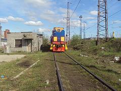 manovra lokomotivo en Murmansko